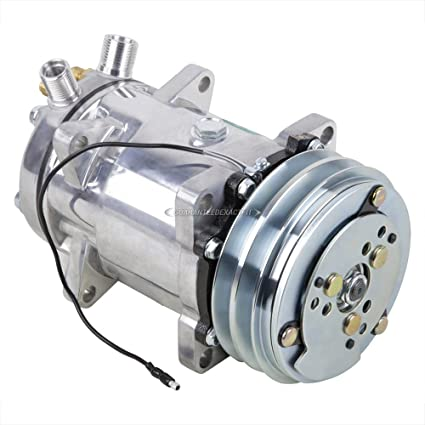 AC Compressor & A/C Clutch For Volvo 240 242 244 245 740 760 780 940 -  BuyAutoParts 60-01528NA New