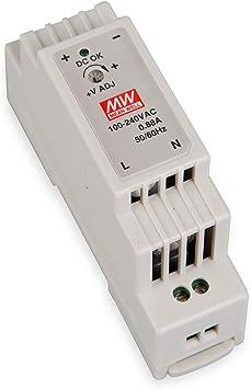 Schaltnetzteil 12V 1,25A 15W für DIN-Schiene DR-15-12 von Meanwell
