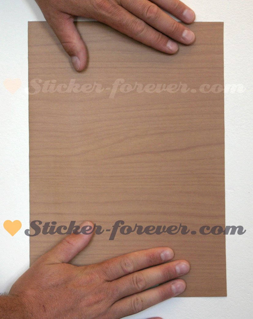 Stickers Vinyle Autocollant Imitation Bois 7 Adh Sif Imitation  ~ Adhesif Imitation Bois Pour Porte
