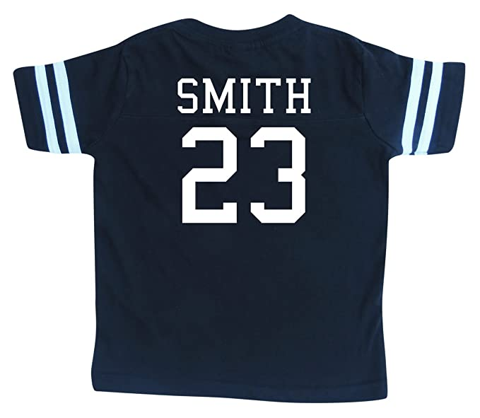 4e1549dea Custom Football Sport Jersey Toddler   Child Personalized with Name and  Number (6 8