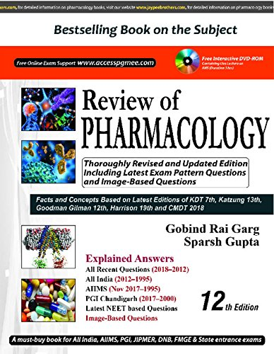 Download Review of PHARMACOLOGY pdf epub