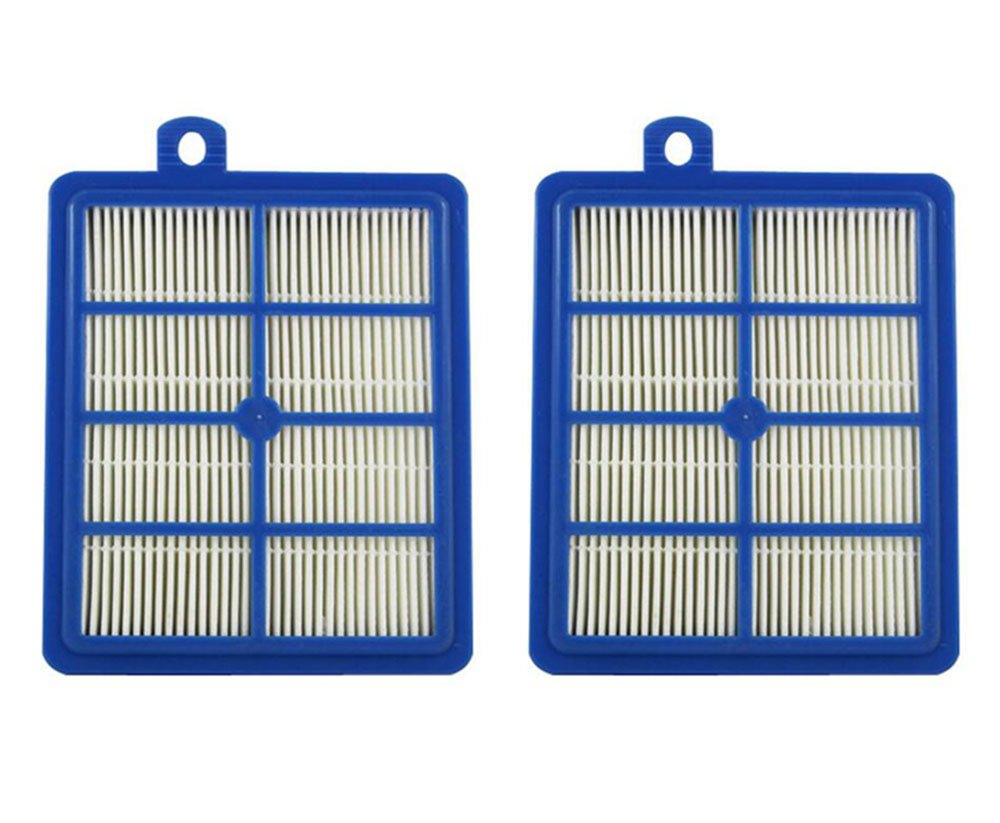 Part # H12 Hepa Filter  for Electrolux Eureka Sanitaire H12 HF1 (HF-1) EL012 EL012W Upright/Canister Filter   Part # H13, SP012 & 60286A (2) 2 pcs GIBTOOL SCGH153
