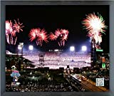 "Citizens Bank Park Philadelphia Phillies 2008 World Series MLB Stadium Photo (Size: 12"" x 15"") Framed"