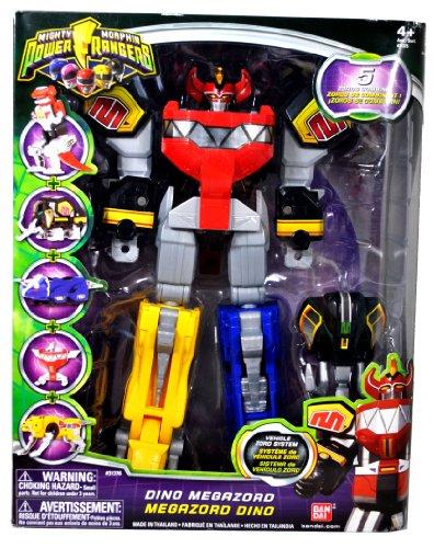 Power Ranger Mighty Morphin Dino Megazord (Power Rangers Mighty Morphin Zords)