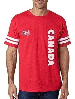 2c8d5d7edad Tstars Canada Day National Football Team Soccer FansFootball Jersey T-Shirt