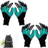 Garden Genie Gloves, Waterproof Garden Gloves with Claw for Digging Planting, Best Gardening Gifts for Women and Men…