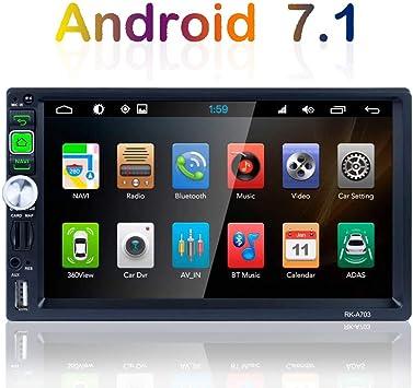 TOYOUSONIC Radio 2 DIN Android 7.1 Bluetooth Navegación GPS 7 ...