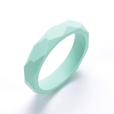 Amazon.com: Safe pulseras de silicona | dentición bebé joyas ...