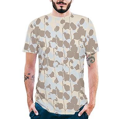 SamMoSon 2019 Camiseta de Polo de Fútbol de Manga Corta, Hombres ...