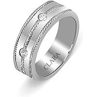 Clara Swarovski The Primo Sterling Silver Ring for Men
