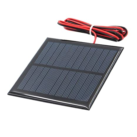 perfeclan Mini Panel Solar De Silicio Policristalino Diy Cargador de Batería - k 5.5v 95x95mm
