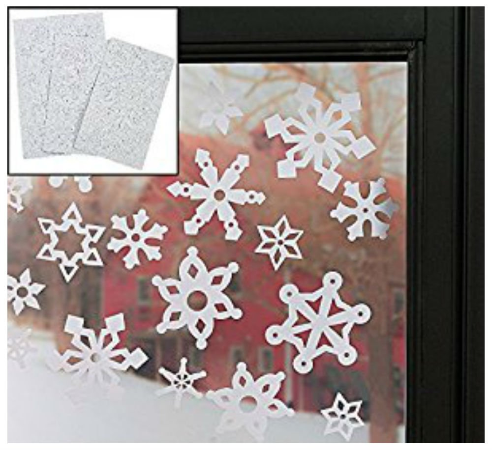Window Stickers Snowflake Winter Christmas Home Room Decorations Clings Decal