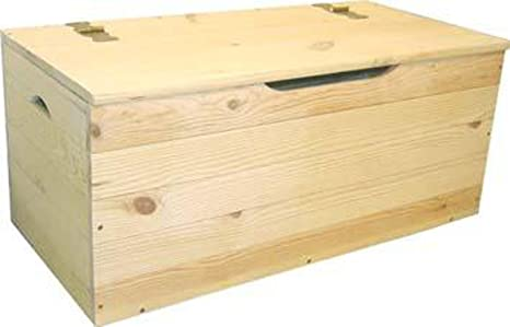 Baule Legno Fai Da Te : Cassapanca baule legno di pino giardino esterno cm cm h