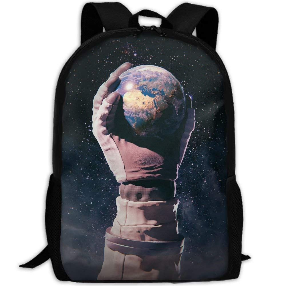color-04 One_Size Backpack for Adults Hiking Seagull Flying Durable School Daypacks