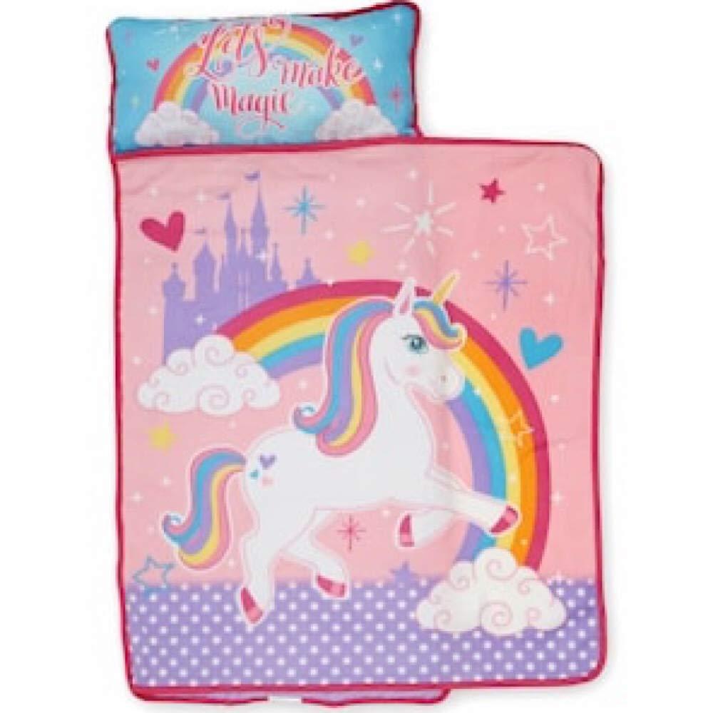 Kids Nap Mat Unicorn with Blanket