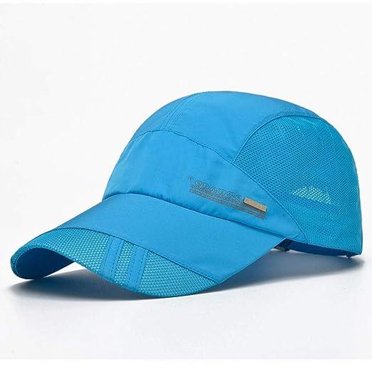 Gorra de beisbol Sombrero Unisex de secado rápido Sombreros para ...