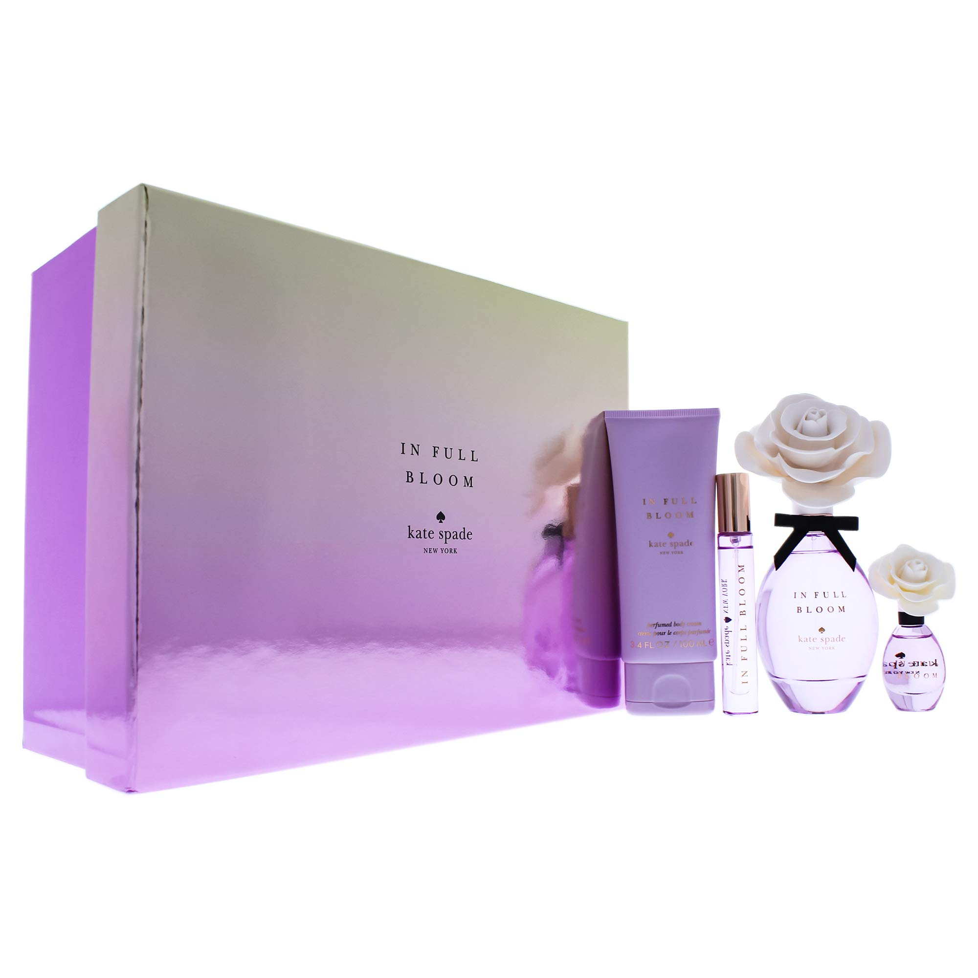 Kate Spade In Full Bloom Holiday Set Womens Perfume , 4 ct.