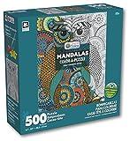 Karmin International Color a Puzzle - Mandalas Owl Design Puzzle (500 Piece)