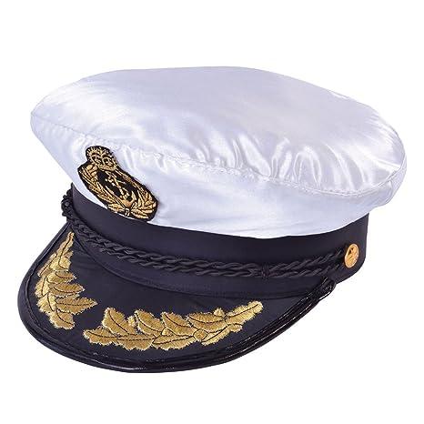 Cappello Capitano Deluxe  Bristol Novelty  Amazon.it  Giochi e ... d084dbdb0f9e