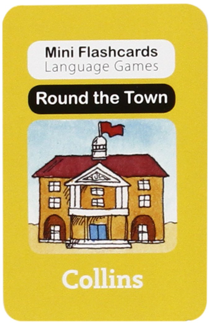 Round the Town (Mini Flashcards Language Games)