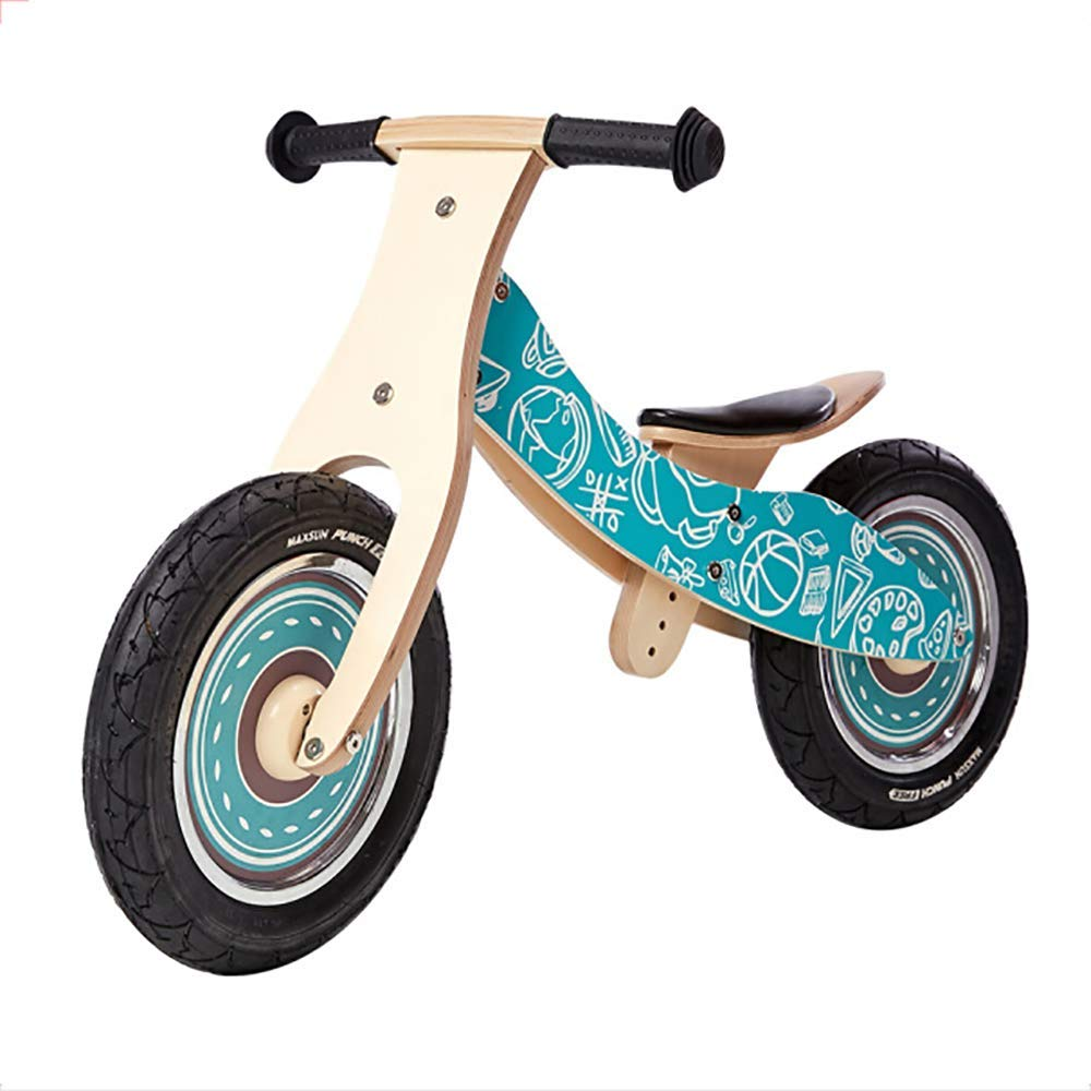 bluee WHTBOX Kids Balance Bike Training Bicycle 2 In 1,No Pedals,Adjustable Handlebar and Seat Lightweight Kids Bike,Birthday Gift Choice,More Than One Year Old Boys Girls,bluee