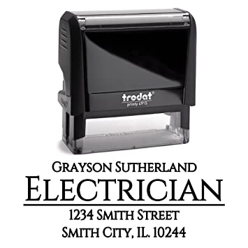 Business Self Inking Stamp