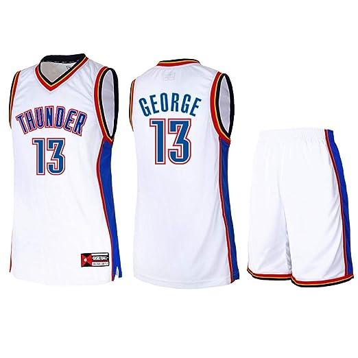 ATI-HSKJ Jerseys de Baloncesto para Hombres: Paul George # 13 ...