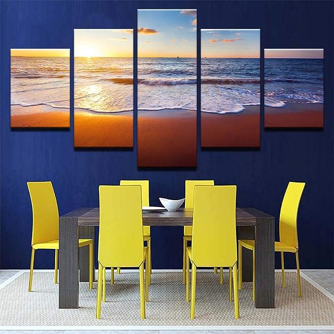 Pintura HD Moderno Modular Art Print 5 Piece Image Home ...