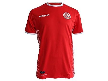 aa92fef1b Errea Men s s Men s Tunisian Away Shirt  Amazon.co.uk  Sports   Outdoors