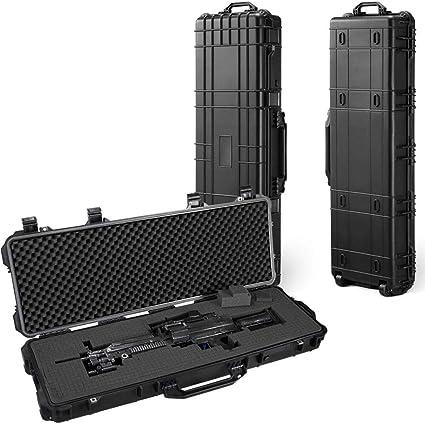 Barska Loaded Gear AX-400 50 Inch Tactical Hard Double Rifle Case BH11982
