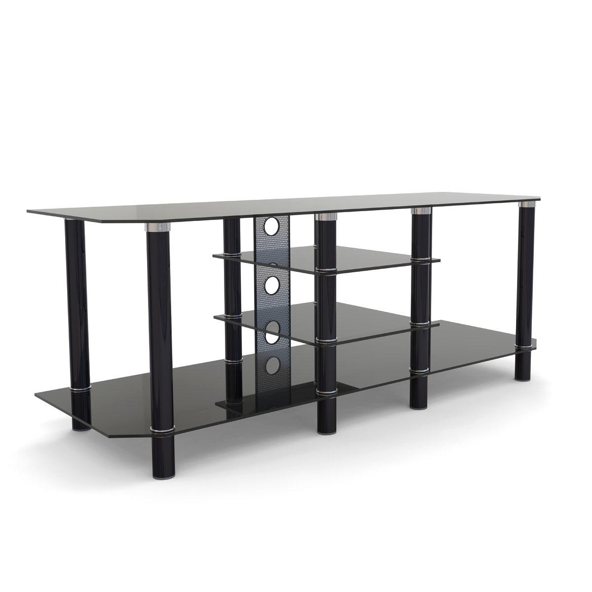 Ryan Rove Hamlin Glass Component Stand in Black