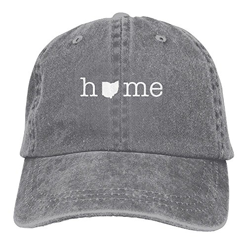 Home In Ohio State Unisex Adult Adjustable Baseball Dad Caps