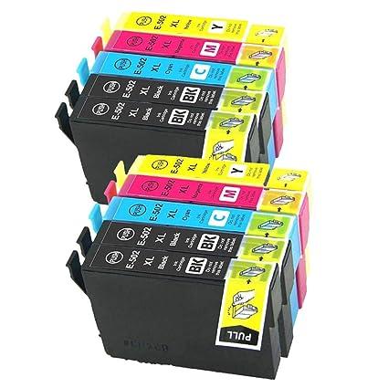 Cartuchos de Tinta de Repuesto para Epson 502 502XL compatibles ...