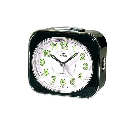 Reloj despertador con luz y retraso | movimiento silencioso | Suoneria beep-campanelli