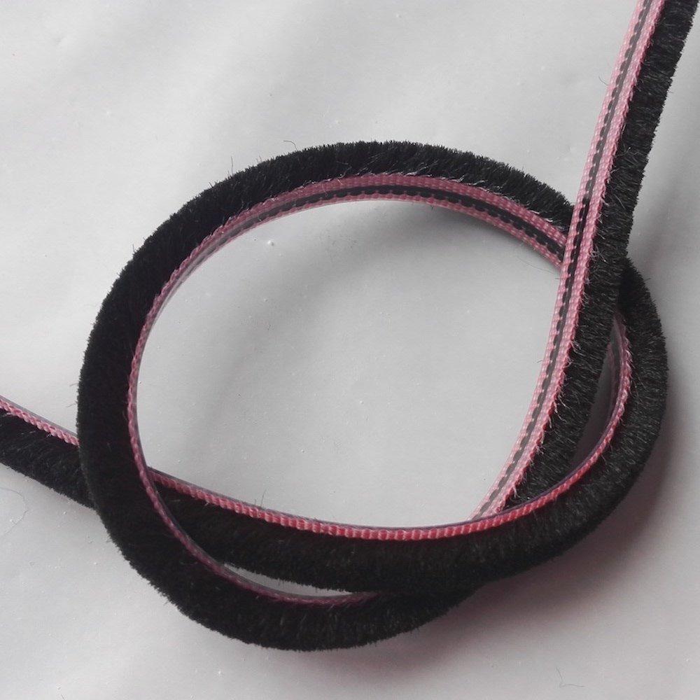 inserto paraspifferi in lana di pile 10 metri Guarnizione scorrevole per porte e finestre in feltro resistente alle intemperie