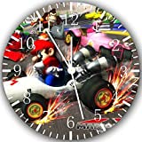 Super Mario Cart Kart Frameless Borderless Wall Clock Z91 Nice For Gift or Room Wall Decor