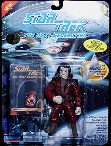 Tng Playmates (STAR TREK: THE NEXT GENERATION - THE NAUSICAAN - ACTION FIGURE ,#G14E6GE4R-GE 4-TEW6W218884)