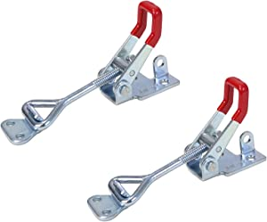 POWERTEC 20312 Pull-Action Latch Toggle Clamp, 400 lbs Capacity, 4002, 2PK