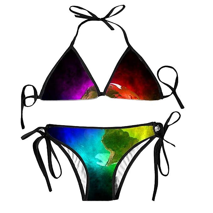 Girls bikini planet