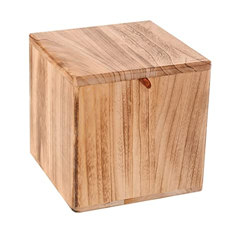 Admirable Amazon Com Wooden Storage Stool Ottoman Cube Storage Box Unemploymentrelief Wooden Chair Designs For Living Room Unemploymentrelieforg