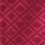 YH Poker 108X60Inch Section of Suited Poker Table Speed Cloth (burgundy)
