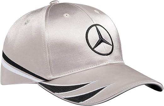 Mercedes-Benz - Gorra de béisbol - para hombre Plateado plata ...
