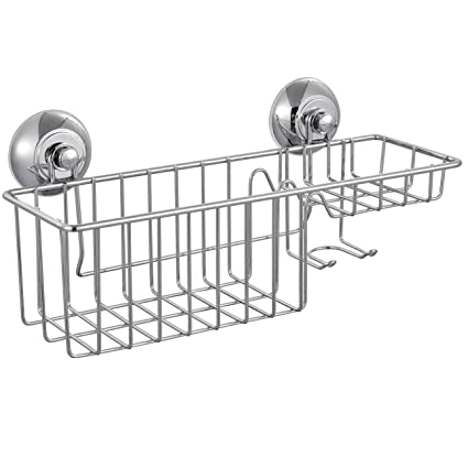 Amazon.com: Housewarean Shower Caddy - Strong Vacuum Suction Cup ...