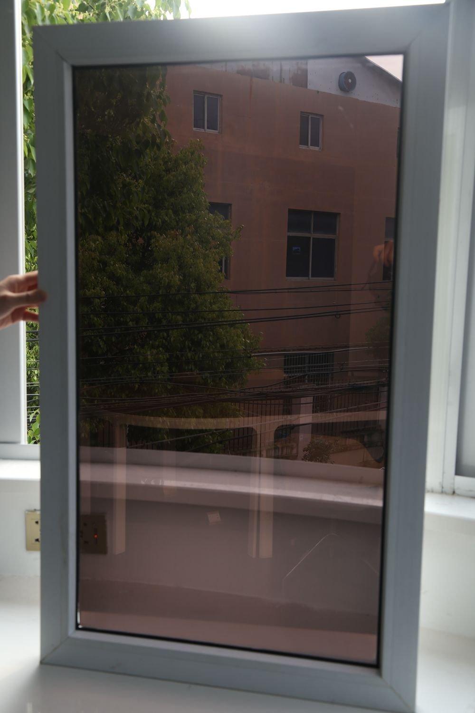 Lifetree Spiegelfolie Sonnenschutzfolie für Fenster Tönungsfolie