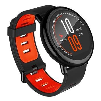SYMTOP Xiaomi AMAZFIT Reloj Inteligente Deportes Bluetooth VERSIÓN INGLÉS - Negro