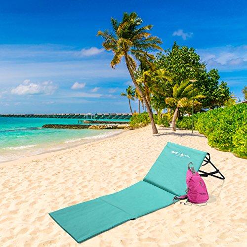 Portable Beach Mat Lounger Ultra Lightweight Stylish