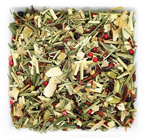 Dinner Balance (Tealyra - Cinnamon Sweet Lemon - Ginger - Lemongrass - Pineapple - Herbal Fruity Loose Leaf Tea - Wellness Balance Blood Sugar - Hot and Iced - Caffeine-Free - 112g (4-ounce))