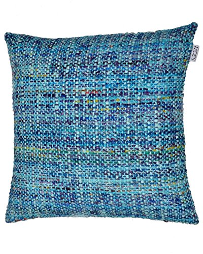 Melee Cushion Multi W/Feather Dimensions: 23.5''W x 0.5''D x 23.5''H Weight: 5 lbs by Moe's Home Collection