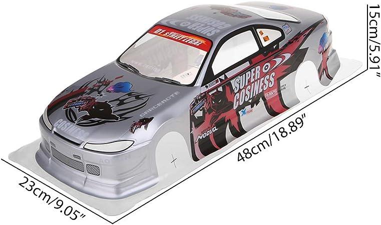 Gjyia 1//10 RC Body Car Modifica 190mm On Road Drift per Nissan S15