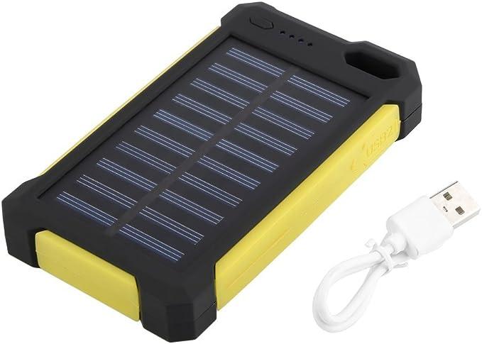 Maistore 30000 mAh universel chargeur solaire Solar Power Bank Dual Port USB étanche protégé contre la poussière durable extérieur chargeur Panneau